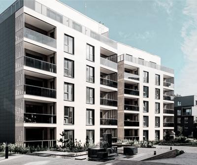Typowy apartamentowiec klasy premium, jaki często wybierają inwestorzy na rynku nieruchomości