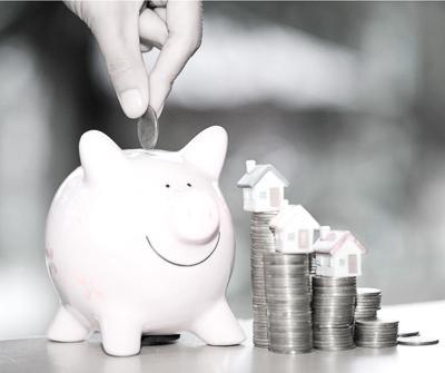 Odkładanie pieniędzy do skarbonki jako zabezpieczenie środków, które może stanowić także kredyt hipoteczny ubezpieczenie