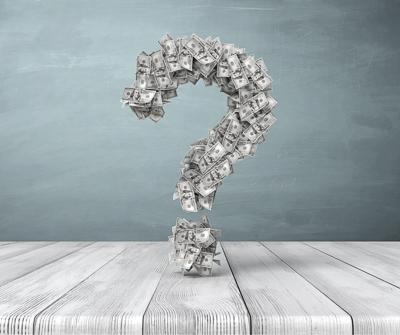 Grafika przedstawiająca znak zapytania, szukając odpowiedzi, ile wynosi WIBOR