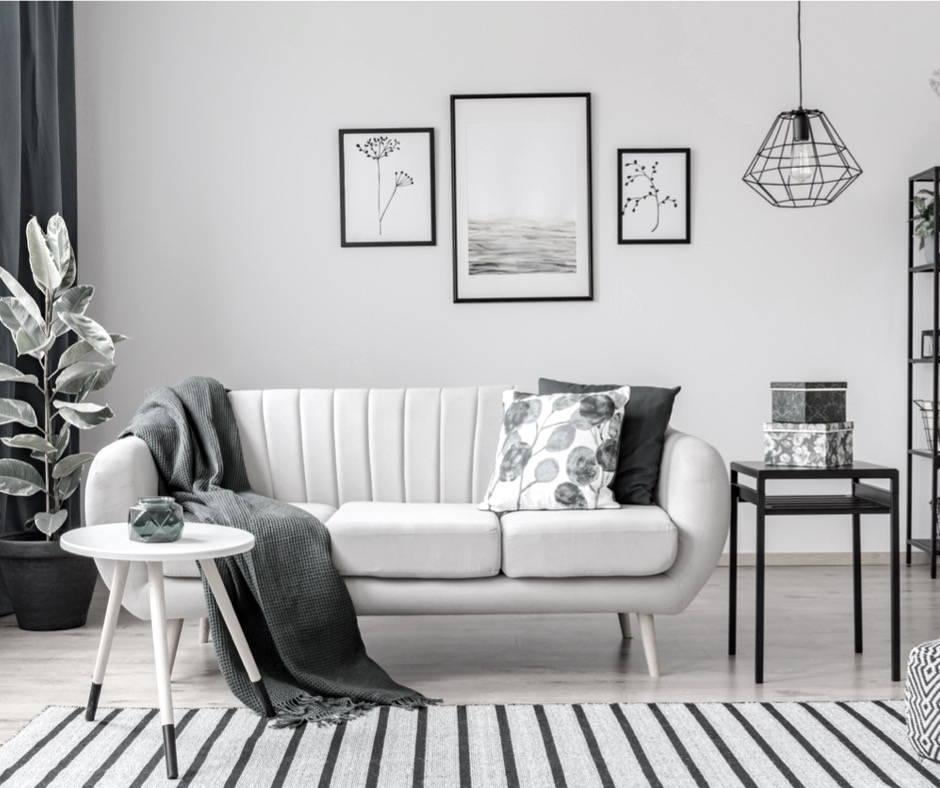 salon, kanapa, atrakcyjna nieruchomość